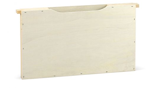 Holz-Futtertasche Normalmaß einfache Wabenbreite
