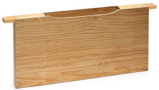 Mangiatoia in legno per luccioperca singolo larghezza nido d'ape