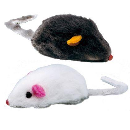 Topolino di peluche per gatti Gioco PA 5004