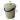 Bidone per la spazzatura rotondo con manico