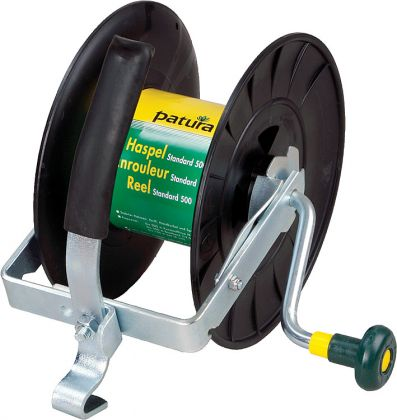 Reel Standard 500 , up to 500 m ofpolywire, with handle