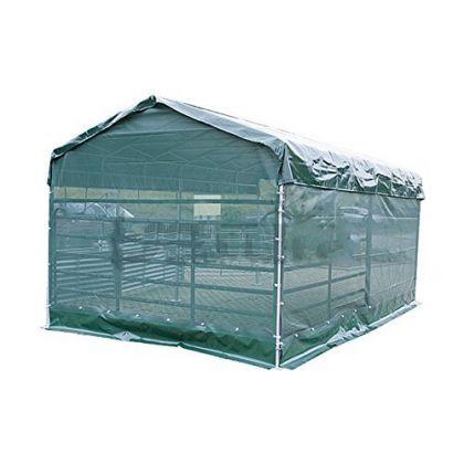 Windschutznetz für Panel-Dach