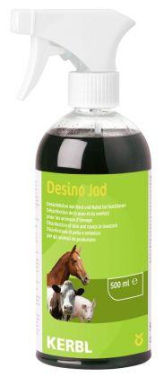 Desinfektionsspray Desino Jod * Jodhaltiges Haut- und Nabelspray für alle Tierarten