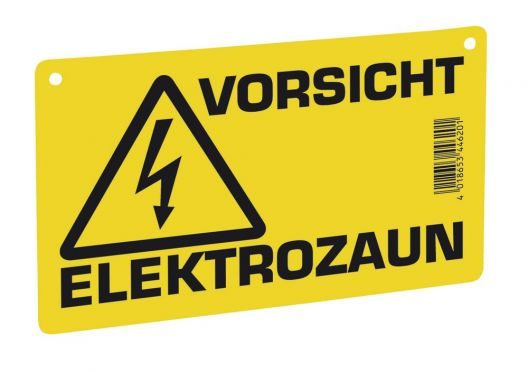 Warning Sign Electric Fence