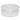 Plastik Futtertrog 2 Liter rund
