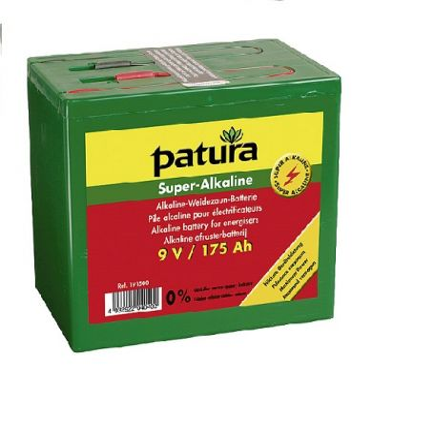 Patura Super-Alkaline Weidezaun-Batterie 9 V